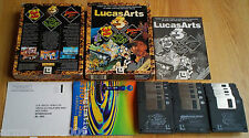 LUCASARTS X3 TRIPLE PACK SAM & MAX + INDIANA JONES + DAY OF THE TENTACLE for PC