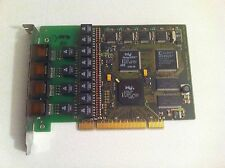 AVM C4 active ISDN PCI Card 4 Ports 8 B-channels 4x S0 #110