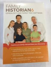 Family Historian 6 Genealogy and Family Tree Software PC NEW