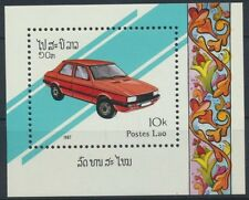 Laos Block 117 postfrisch / Autos ..............................................