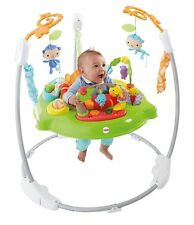 Fisher-Price Roaring Rainforest Jumperoo Baby Bouncer Swing Music Lights NEW