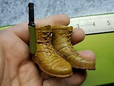 1/6 scale Boots and knife  for 12 inch figure MARVEL Studios toy ( wolverine )