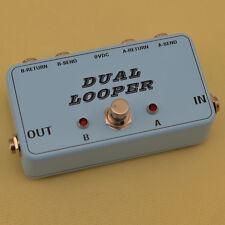 Guitar Loop Pedal - True Bypass Looper - Custom Design AB @