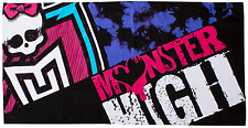 MONSTER HIGH BEASTIES BATH BEACH CHARACTER TOWEL KIDS HOLIDAY SPORTS SWIMMING