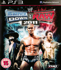 WWE SmackDown vs. Raw 2011 (PS3 Sony PlayStation 3, 2010)