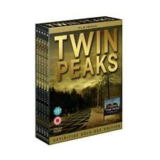 "TWIN PEAKS COMPLETE SERIES DEFINITIVE GOLD EDITION 10 DISC DVD BOX SET ""NEW"""
