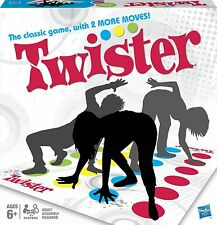 New Design The Classic Game of Twister Now With 2 More Moves New Boxed Toy