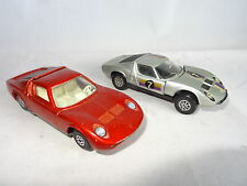 corgi matchbox LOT OF 2 LAMBORGHINI MUIRA - 342 / K 24