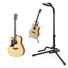 Pro Guitar Electric Bass Stand Folding Tripod  Floor Rack Stage Holder OZ NEW