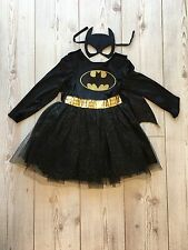 Girls Batman tutu costume And Cape with Mask Age 9/10 Years Bat girl Outfit