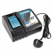 GENUINE MAKITA DC18RC 7.2 - 18V LI-ION FAST CHARGER 240V. BRAND NEW UK STOCK