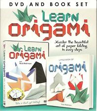 LEARN ORIGAMI DVD & BOOK GIFT SET - MASTER THE BEAUTIFUL ART OF PAPER FOLDING