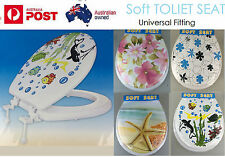 New  Soft Toilet Seat and Cover Lid Designer Bathroom Covers WC Bath Seat Lids