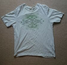 Ted Baker White Short Sleeve T Shirt XL Graphic Green size 5