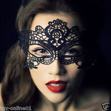 Sexy Black Lace Eye Mask Costume Ball Party Fancy Dress Ladies Masquerade Mask