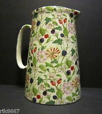 Heron Cross Pottery Hedgerow 4 Pint English Milk Jug very big (vase)
