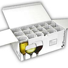 Großes Glas Set 18tlg. mit je 6x Rotwein Weingläser, Weißwein Gläser, Sektgläser