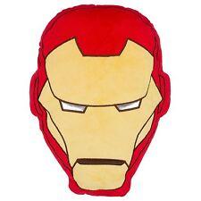 Official Licenced Marvel Avengers Iron Man Shaped head Cushion Tony Stark