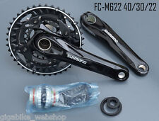 Shimano Kurbel 3x10-fach FC-M622 Hollot. II 175mm schwarz mit Innenlager