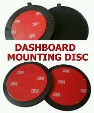 ONE(x1) 85MM CIRCULAR DASHBOARD MOUNTING DISC -- WITH 3M ADHESIVE PAD