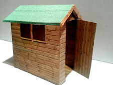 Dolls House Garden Accessories /Furniture - Shed 1:24 Scale Kit