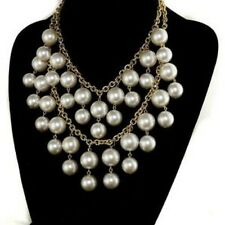 Statement Chunky 2 Row Pearl Necklace  - New!