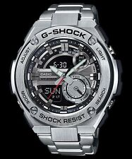 GST-210D-1A BLACK  Men's G-shock Watches Stainless Steel Band New