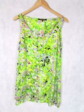 ROBERTO CAVALLI SIZE 42 OR 10 SILK FLORAL SLIP DRESS AUTHENTIC