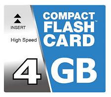4 GB Compact Flash Karte CF Speicherkarte für Nikon D70