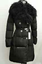 Versace Collection Fur collar FEATHER DOWN Padded Coat UK8 IT40 RRP1295GBP