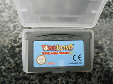 NINTENDO  GBA CARTRIDGE SUPER MARIO ADVANCE 3 YOSHI'S ISLAND AND PROTECTIVE CASE