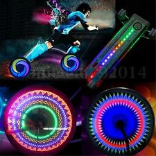 16 LED Colorful Rainbow Bicycle Bike Wheel Spoke Light Flashing Side Tire Lamp