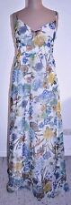 Vintage Culture Label Long Floral Dress-Party,Resort,Wedding,Festival - Size 12