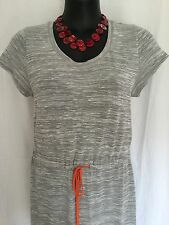 Size 14 Smart Flattering Comfy Grey Maxi Dress