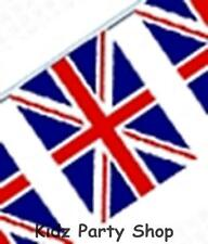 British Party - 10m Union Jack Plastic Flag Banner Decoration - Free Post in Uk