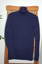 PRADA Rollkragen Pullover Blau Gr. L 40/42 (ital. Gr. 46)