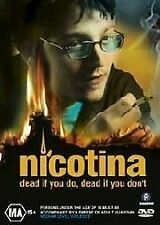 Nicotina (DVD, 2006) Foreign Thriller, R4, NEW AND SEALED