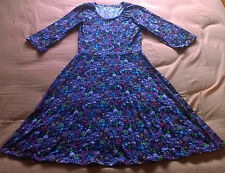 WOMENS ORIGINAL VINTAGE DRESS. SZ:8-10 AS NEW