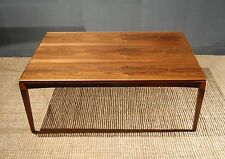 Danish Rosewood Coffee Table Mid Century Vintage Retro