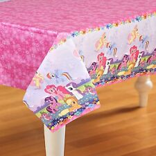 """MY LITTLE PONY PARTY SUPPLIES PAPER TABLE COVER / TABLE CLOTH 54"""" x 96"""""""