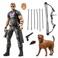 "Marvel The Avengers Hero Select Age Of Ultron Hawkeye 7"" Action Figure No Box"