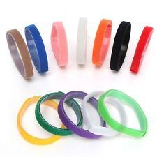 12 Farbe Welpen ID Halsbänder Klettband Welpenhalsband Neu für Hunde Katzen 20CM