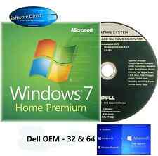 Windows 7 Home Premium 32 & 64 BIT Full Version OEM DVD and Product Key