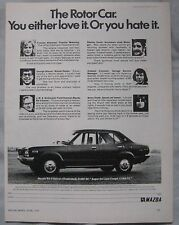 1974 Mazda RX-3 Original advert No.1
