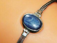 RARITÄT KYANIT Disthen echt 925 Sterling Silber Armband Armkette Armschmuck