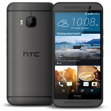 """HTC ONE M9 Phone Android 5"""" Full HD 32GB 20MP 4G LTE NFC Dolby Unlocked Gray"""