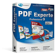 PDF Experte 9 Professional  CD/DVD Version deutsch PRO inkl. Driver Genius 12 CD