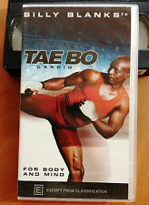 BILLY BLANKS - TAE BO CARDIO - FOR BODY AND MIND - VHS