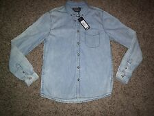 SONNETI DISTRESSED/FADED DENIM SHIRT NEW WITH £30 TAGS