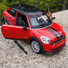 MINI Paceman Red Model Car 1:22 Alloy Diecast Collection&gift Front Steering New